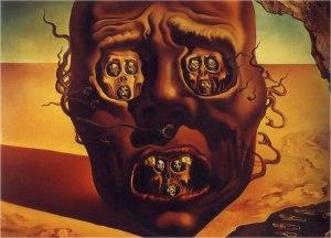 A Face da Guerra, Salvador Dali